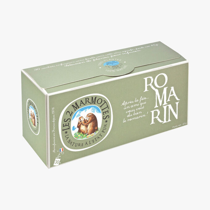Rosemary infusion Les 2 Marmottes
