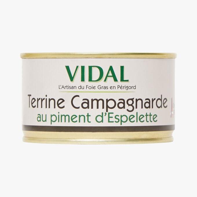 Terrine campagnarde au piment d'Espelette Vidal