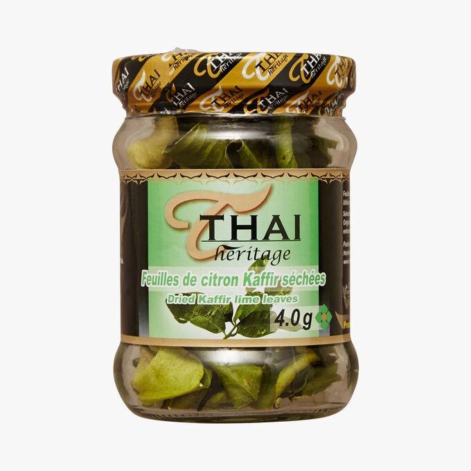 Feuilles de citron Kaffir séchées Thaï Heritage