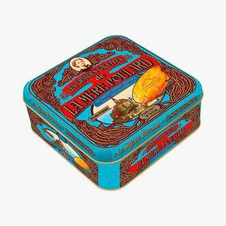Gift box of large galette biscuits La mère Poulard