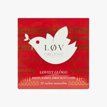 Lovely Glögg, tin of 20 sachets Lov Organic
