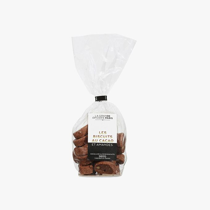Biscuits au cacao et aux amandes La Grande Épicerie de Paris