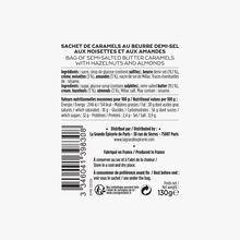 Sachet de caramels au beurre demi-sel aux noisettes et aux amandes La Grande Épicerie de Paris