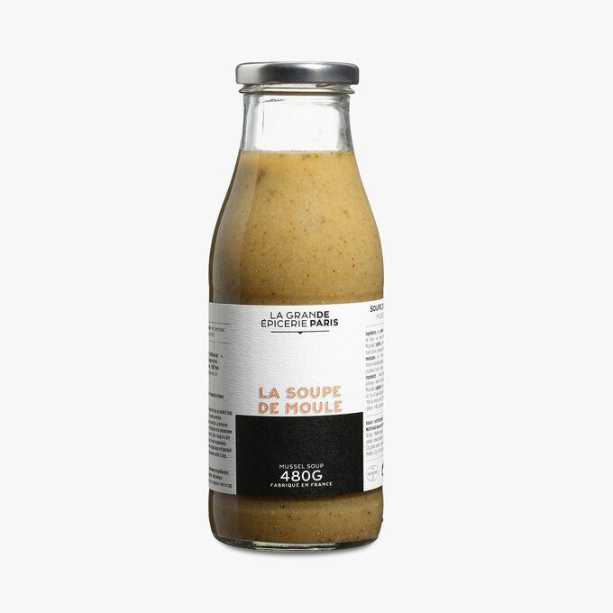 Soupe de moules La Grande Épicerie de Paris