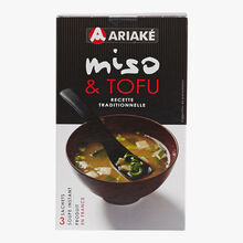 Miso & tofu instant soup Ariaké