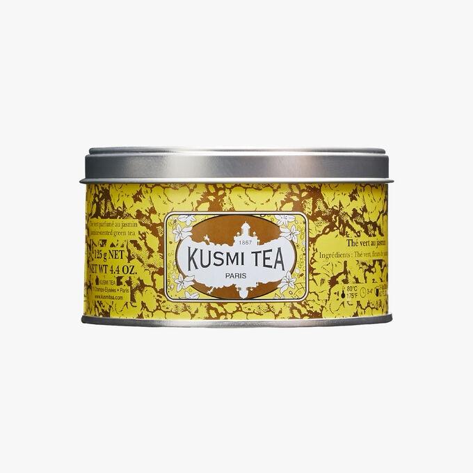 Jasmine Green Tea, metal tin Kusmi Tea