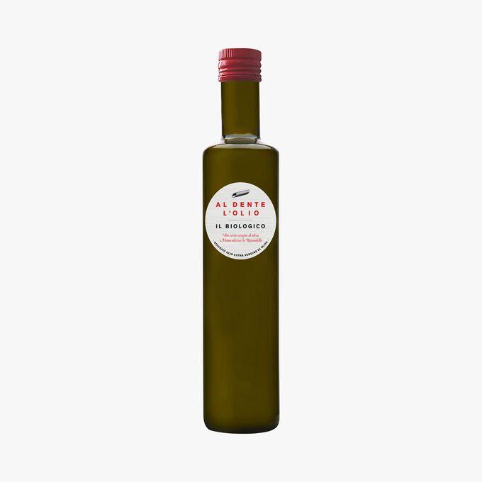 Organic extra virgin olive oil Al dente la salsa
