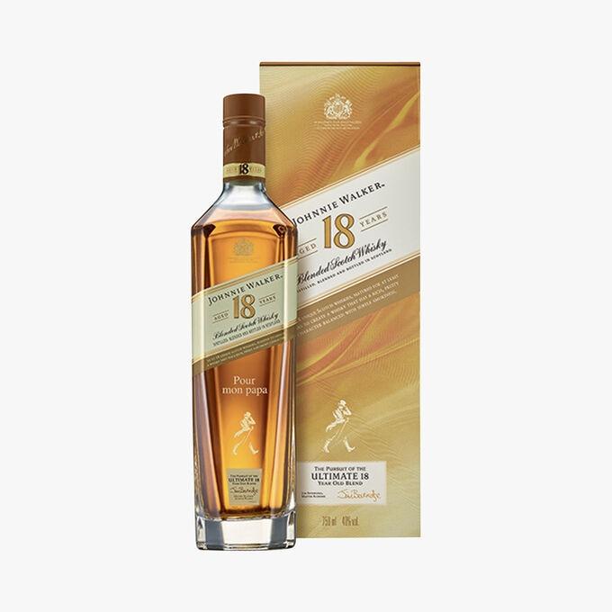 Whisky Johnnie Walker, 18 years old Johnnie Walker