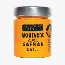 Moutarde saveur safran et miel Savor & Sens