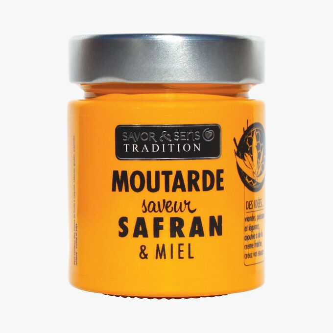 Saffron and honey-flavoured mustard Savor & Sens