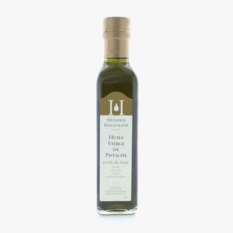Virgin pistachio oil Huilerie Beaujolaise