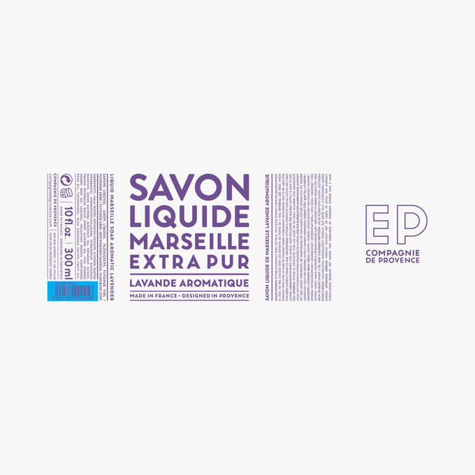 Savon liquide de Marseille Lavande Aromatique Compagnie de Provence