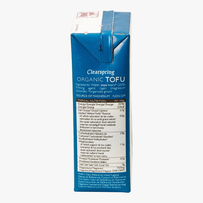 Firm, Smooth Organic Tofu Clearspring