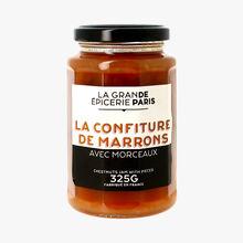 La confiture de marrons avec morceaux La Grande Épicerie de Paris