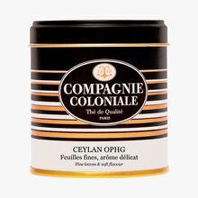 Ceylan OPHG - Feuilles fines, arôme délicat Compagnie Coloniale