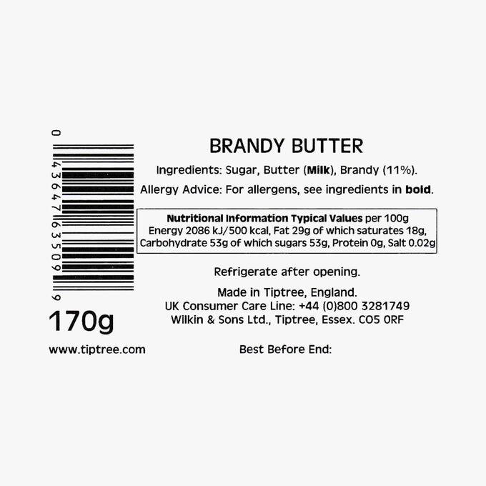 Brandy butter Wilkin & Sons