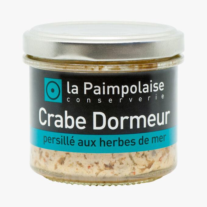 Crabe dormeur, persillé aux herbes de mer La Paimpolaise Conserverie