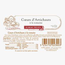 Cœurs d'artichauts à la Romaine Albert Ménès
