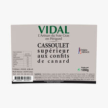 Superior Cassoulet with duck confit Vidal