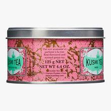 Thé vert à la rose boîte métal Kusmi Tea