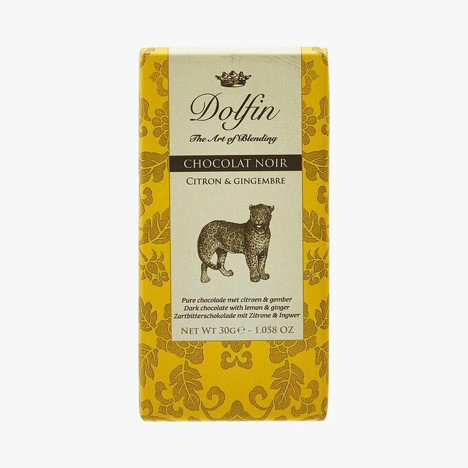 Dark chocolate - Lemon & ginger Dolfin