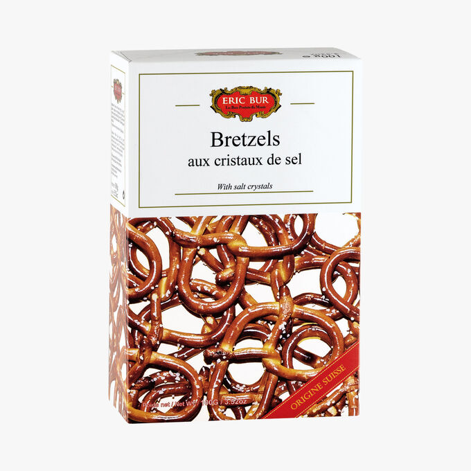 Bretzels aux cristaux de sel Eric Bur