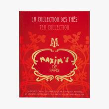 Coffret 30 sachets de 6 variétés de thé et infusion assortis Maxim's