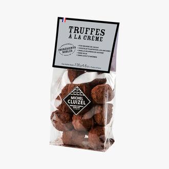 Packet of cream truffles Michel Cluizel
