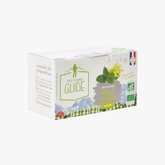 Linden-Mint infusion - 20 teabags La Tisane du Guide