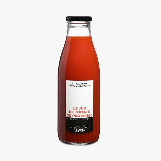 Jus de tomate et piment d'Espelette  La Grande Épicerie de Paris