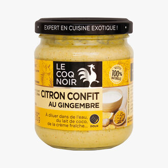 Citron confit au gingembre Le Coq Noir