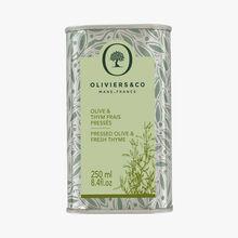 Olive & Thym frais pressés Oliviers & Co
