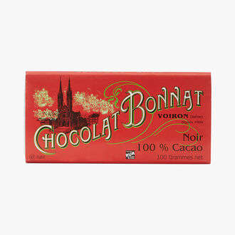 Chocolat Noir 100 % cacao Bonnat