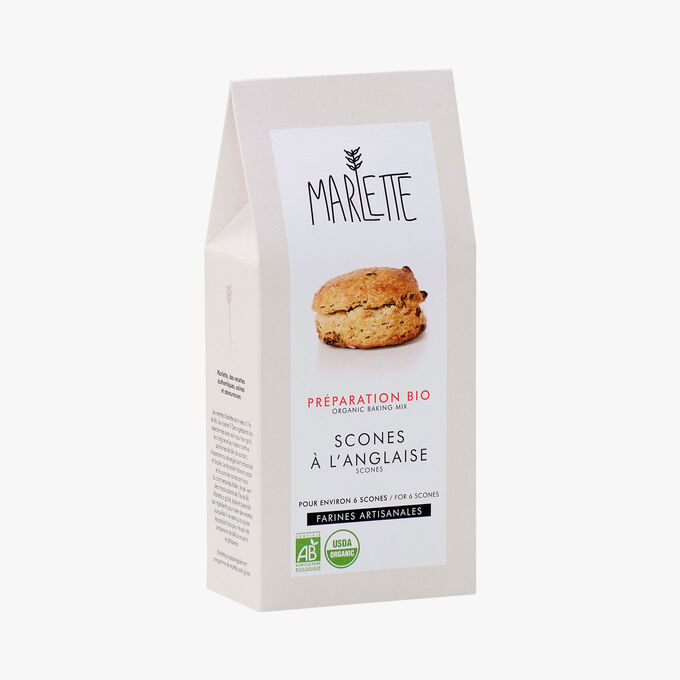 Organic mix for English scones Marlette