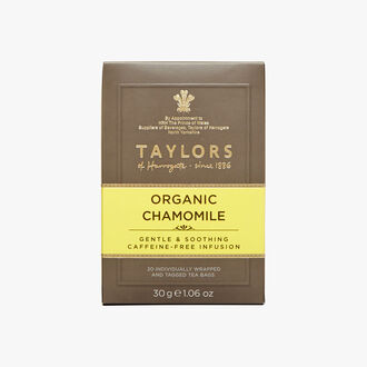 Organic chamomile infusion Taylor's of Harrogate