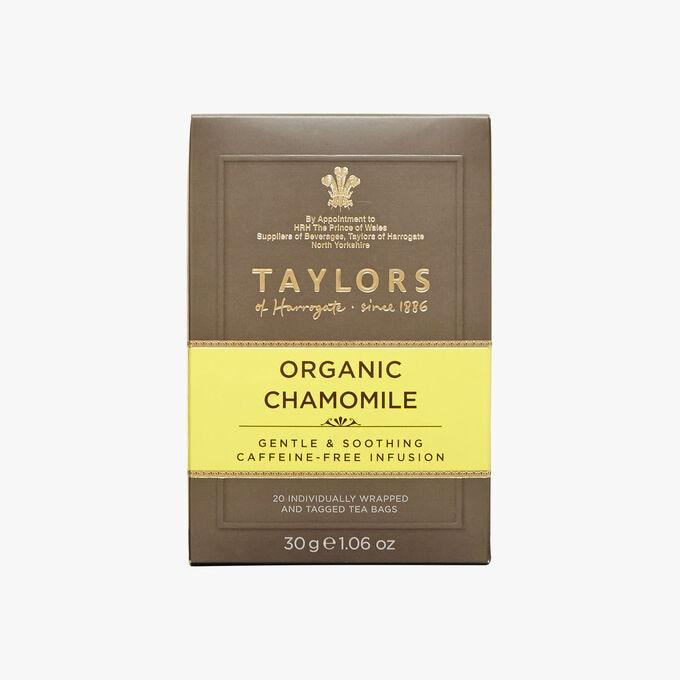 Organic chamomile infusion Taylor's of Harrogate