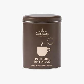 Poudre de cacao, boîte métal Café-Tasse