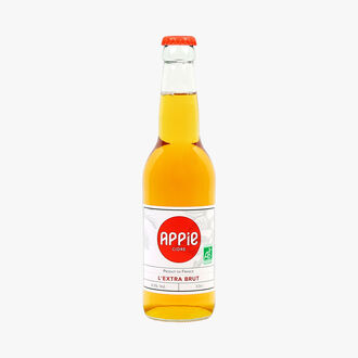 Organic extra brut cider  Appie