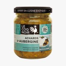 Achards d'aubergine Le Coq Noir