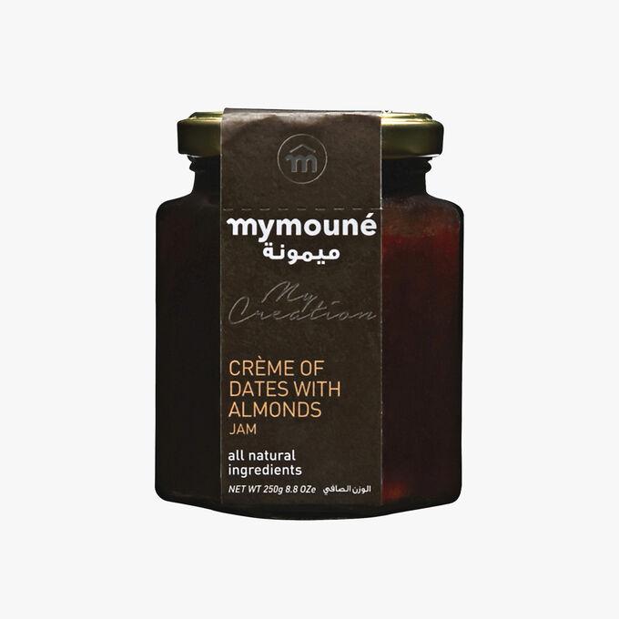 Crème de dattes aux amandes Mymouné