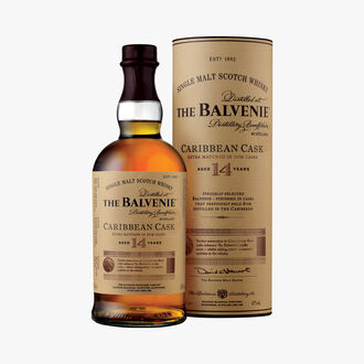 The Balvenie 14 Year Old Caribbean Cask Whisky The Balvenie