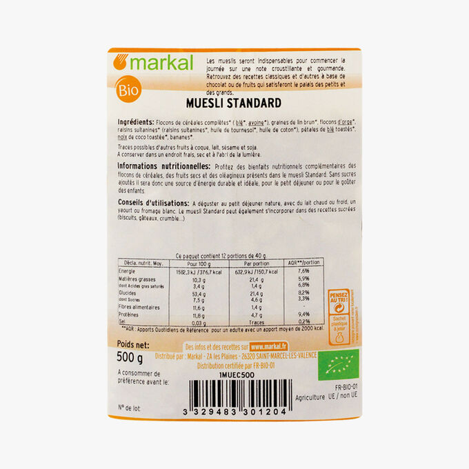 Regular muesli Markal