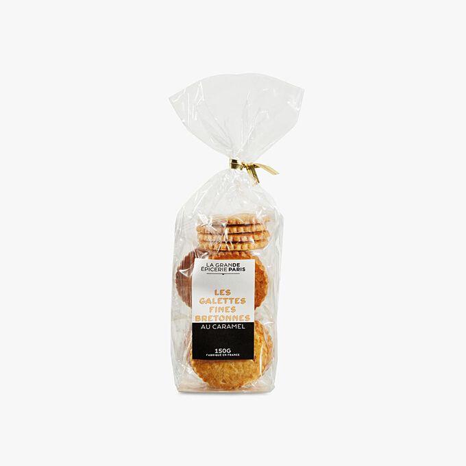 Thin Breton biscuits with caramel La Grande Épicerie de Paris
