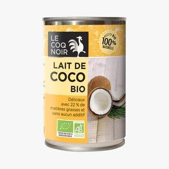 Lait de coco bio Le Coq Noir