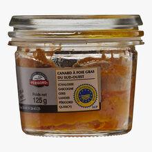 Périgord whole duck foie gras, truffle 5 % (Tuber Melanosporum) Vidal