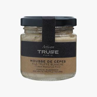 Mousse de cèpes à la truffe blanche (Tuber magnatum pico) Artisan de la truffe