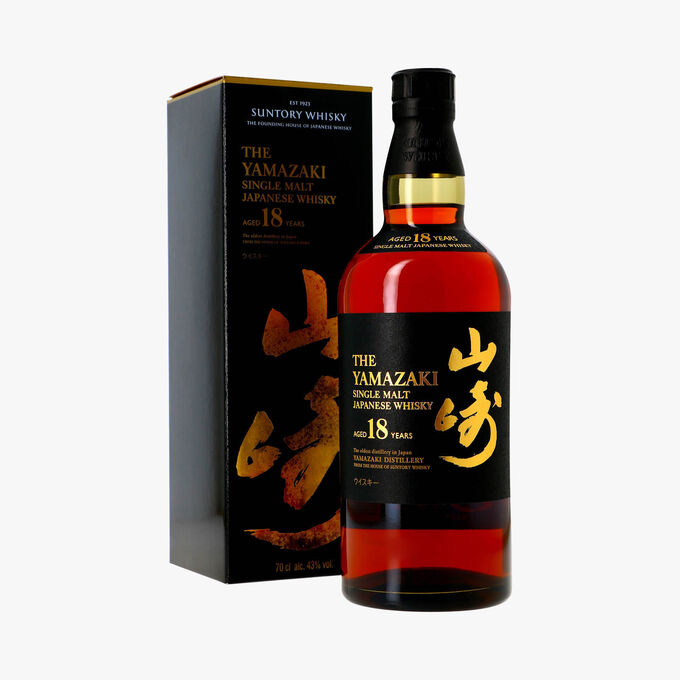 Whisky The Yamazaki, 18 ans d'âge Suntory