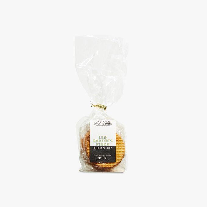 Thin pure butter waffle biscuits La Grande Épicerie de Paris