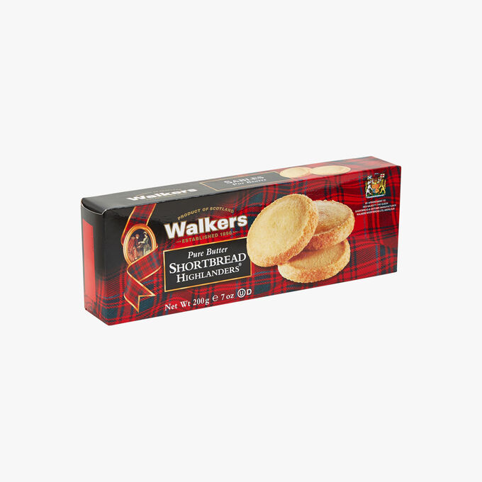 Pure butter shortbread biscuits Walkers