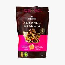 Grand granola - divin - chocolat blanc, noix de macadamia, vanille & baies de sureau La Fourmi Bionique
